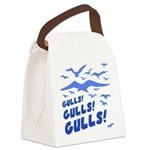 Gulls! Gulls! Gulls! Canvas Lunch Bag