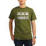 Forecast for Birding Organic Men's T-Shirt (dark)