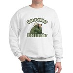 Save a Cowboy... Ride a Birder Sweatshirt