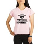 Prop. of Twitching Dept. Performance Dry T-Shirt