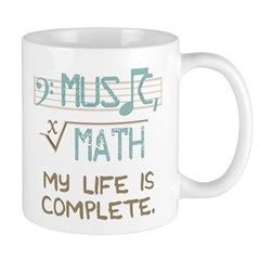 Math and Music Mugs