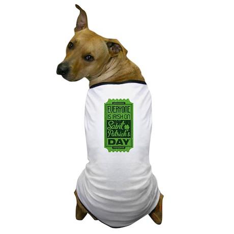 Everyone's Irish Dog T-Shirt