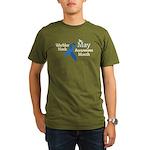 May Warbler Neck Awar Organic Men's T-Shirt (dark)