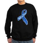 Warbler Neck Feather Ribbon Sweatshirt (dark)