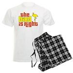 The Bird Is Right Men's Light Pajamas