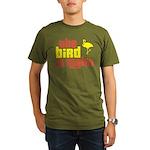 The Bird Is Right Organic Men's T-Shirt (dark)