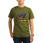 Natural Born Birder Organic Men's T-Shirt (dark)