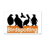 Birdspotting Rectangle Car Magnet