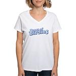 Beast of Birding Women's V-Neck T-Shirt