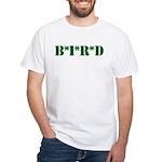 B * I * R * D White T-Shirt