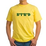 B * I * R * D Yellow T-Shirt