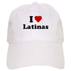 I Love [Heart] Latinas Cap