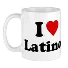 I Love [Heart] Latinos Mug
