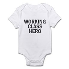 Working Class Hero Infant Bodysuit