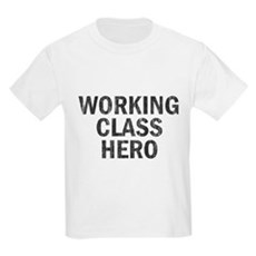 Working Class Hero Kids Light T-Shirt