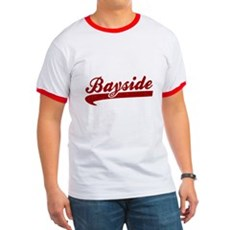 Bayside Tigers (Distressed) Ringer T