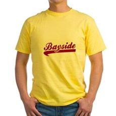 Bayside Tigers (Distressed) Yellow T-Shirt