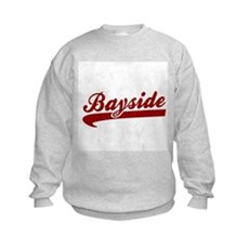 Bayside Tigers (Distressed) Kids Sweatshirt