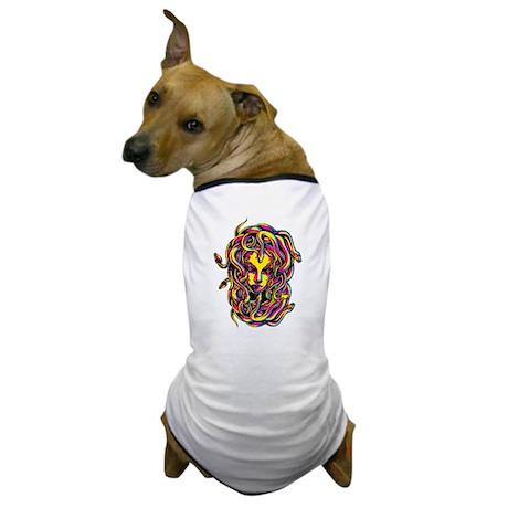 CMYK Medusa Dog T-Shirt