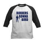 Birders Gonna Bird Kids Baseball Jersey