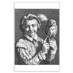Bloemaert's Youth with owl Large Poster