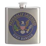 Licensed Bird Bander Flask