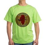 Illinois Birder Green T-Shirt