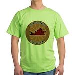 Virginia Birder Green T-Shirt