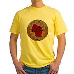 Wisconsin Birder Yellow T-Shirt