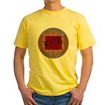 Wyoming Birder Yellow T-Shirt