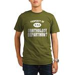 Prop. of Ornithology Organic Men's T-Shirt (dark)