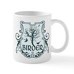 Gothic Birder Shield Mug