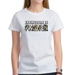 Extinction is Forever Women's T-Shirt