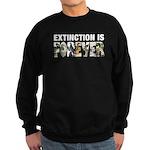 Extinction is Forever Sweatshirt (dark)