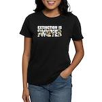 Extinction is Forever Women's Dark T-Shirt