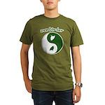 Zen Birder Organic Men's T-Shirt (dark)