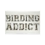 Birding Addict Rectangle Magnet