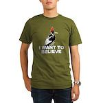 I Want to Believe Organic Men's T-Shirt (dark)