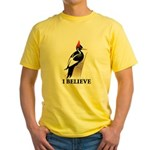 Ivory-billed: I Believe Yellow T-Shirt
