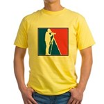 Major League Birder Yellow T-Shirt