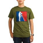 Major League Birder Organic Men's T-Shirt (dark)