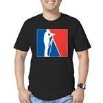 Major League Birder Men's Fitted T-Shirt (dark)
