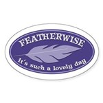 Featherwise Sticker (Oval)