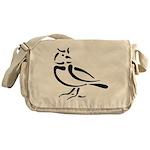 Stylized Lark Messenger Bag