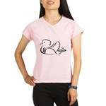 Stylized Mandarin Duck Performance Dry T-Shirt