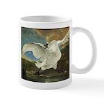 The Threatend Swan, Jan Asselijn Mug