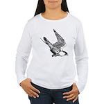 Peregrine Sketch Women's Long Sleeve T-Shirt