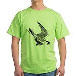 Peregrine Sketch Green T-Shirt