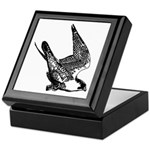 Peregrine Sketch Keepsake Box