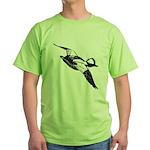 Bufflehead Sketch Green T-Shirt